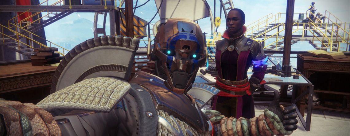Künstlerin zeigt, wie Ikora über 9 Wochen das Portal in Destiny 2 baute