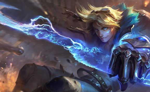 Ezreal Header Lol TFT