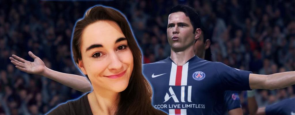 Schaut heute live dabei zu, wie sich Leya in FIFA 20 blamiert