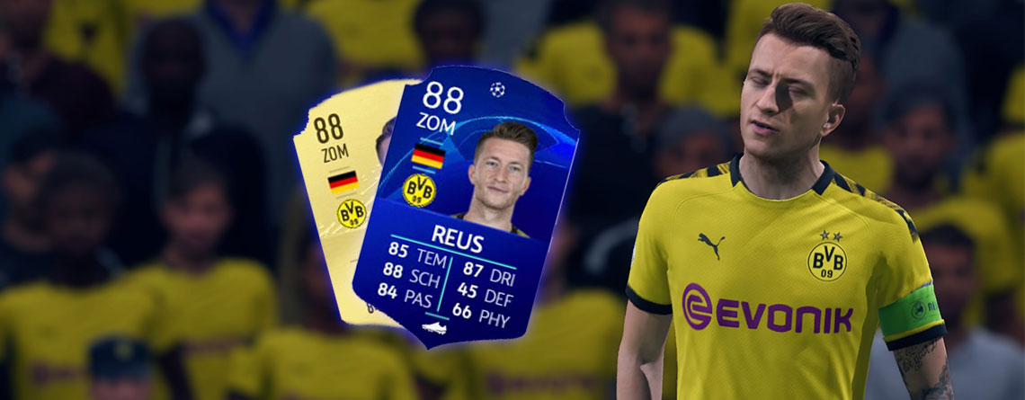 FIFA 20 bringt blaue Spezial-Karten zur Champions League, die nicht speziell sind