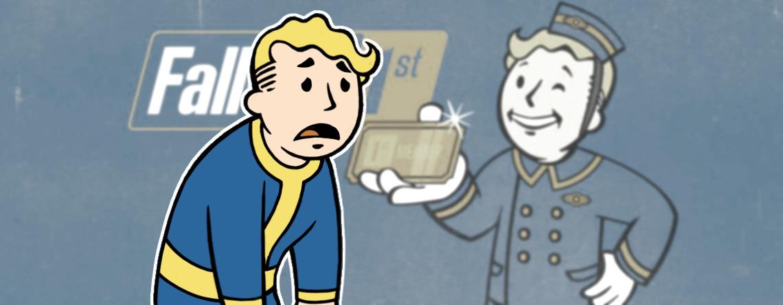 Werden die reichen Käufer von Fallout 1st in Fallout 76 wirklich gejagt?