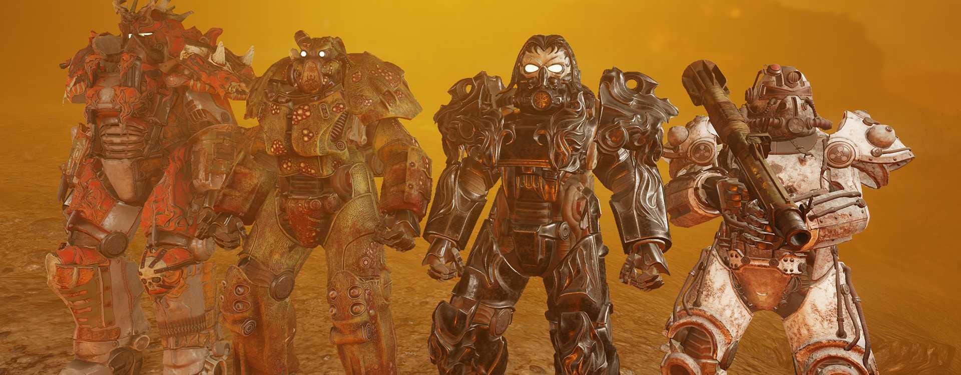 Fallout 76 bringt die 3 coolsten und den enttäuschendsten Skins zurück, aber nur kurz