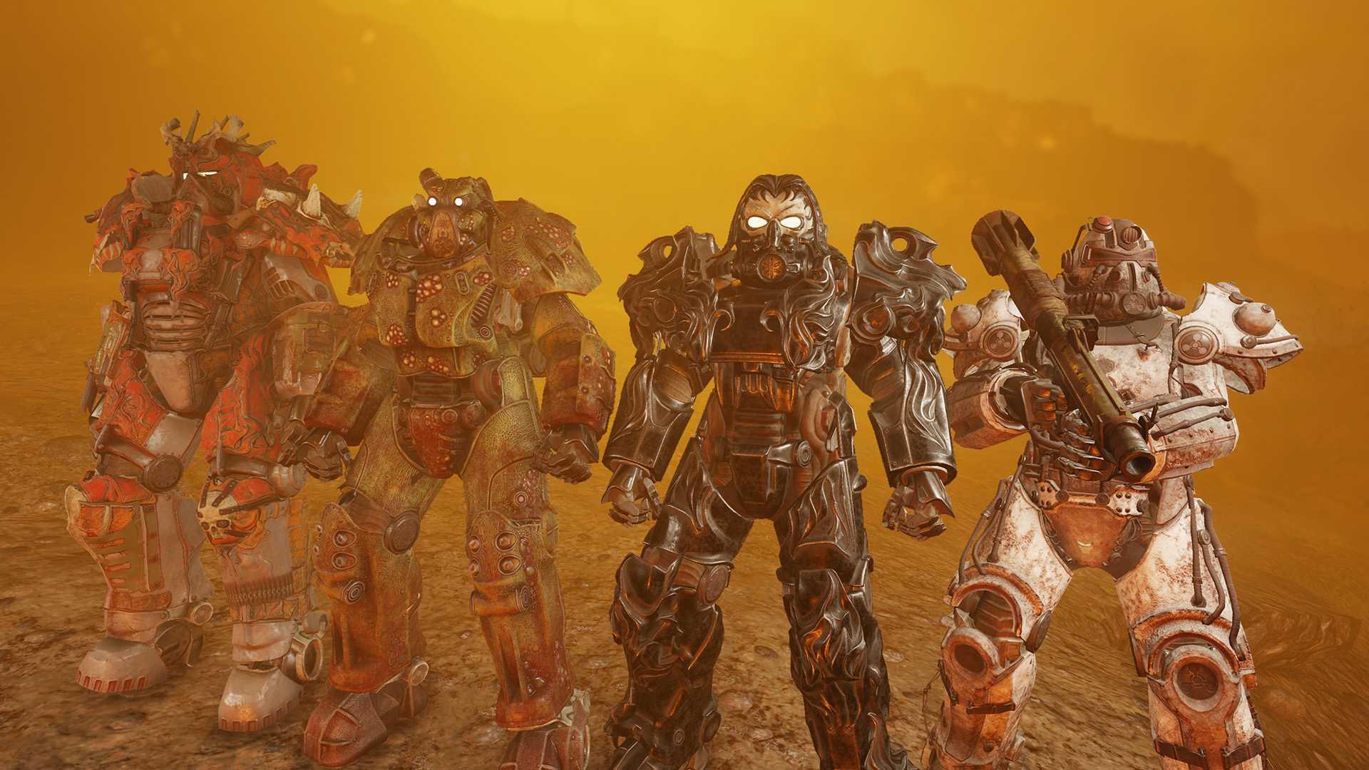 Fallout 76 VIer Reiter Powerrüstungen