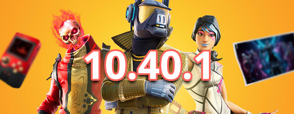 Fortnite: Update 10.40.1 bringt Steinstoßpistole – Deutsche Patch Notes