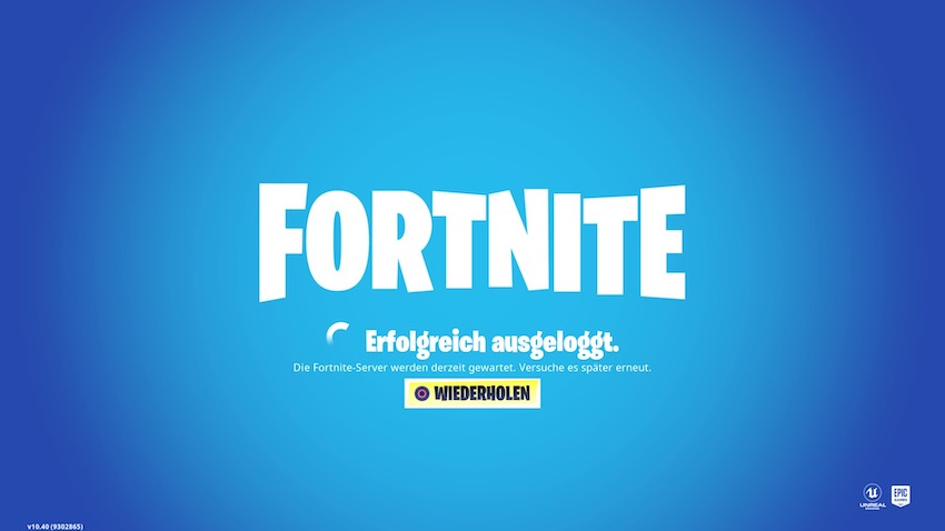Fortnite: Server sind down für Season 11 – 15 GB Patch kommt