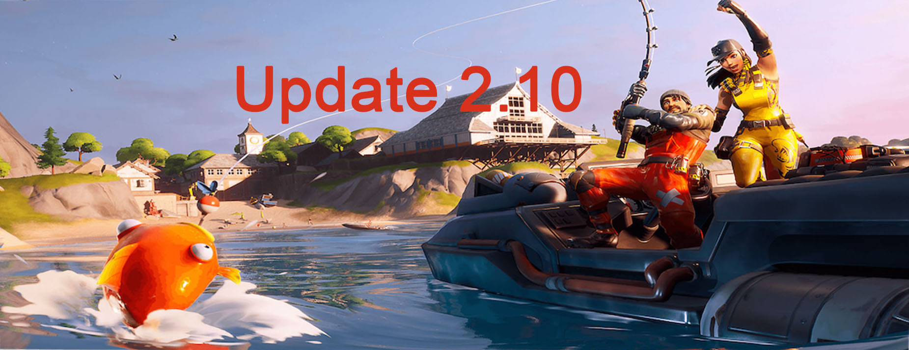 Fortnite: Update 2.10 bringt Fortnite Kapitel 2 – Deutsche Patch Notes