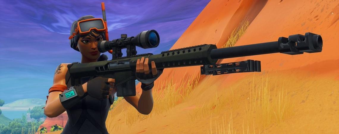 Fortnite: So findet ihr die versteckten Waffen SMG und Heavy Sniper