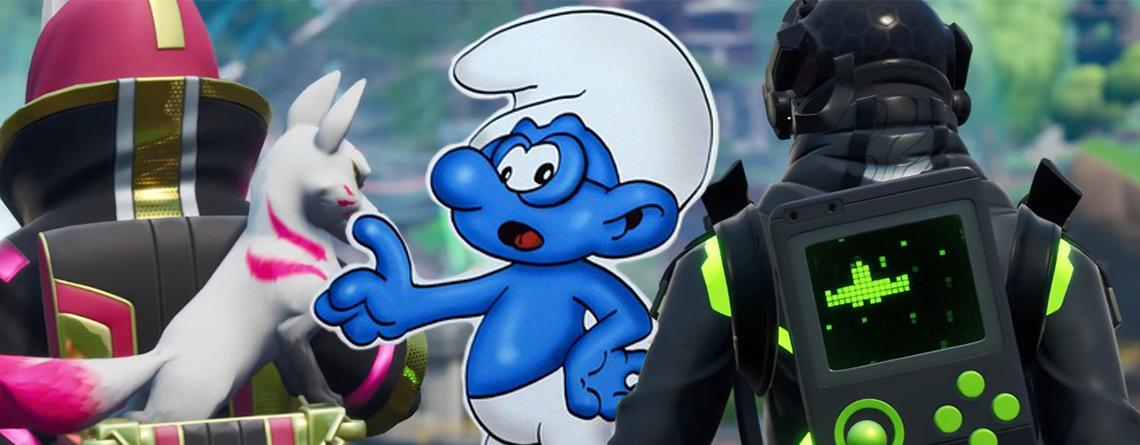 Fortnite bannt jetzt für Smurfing – Das steckt hinterm bösen Schlumpf