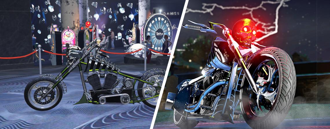 Spielt jetzt GTA Online, um ein gruseliges Halloween-Bike zu gewinnen