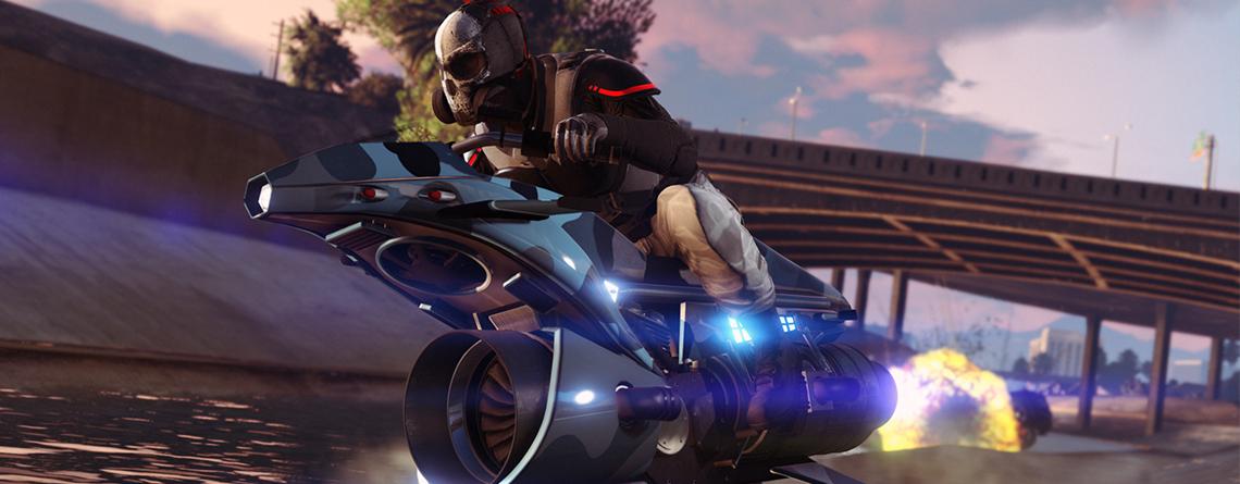Vorsicht! In GTA Online gibt's das nervige Flug-Motorrad jetzt billiger