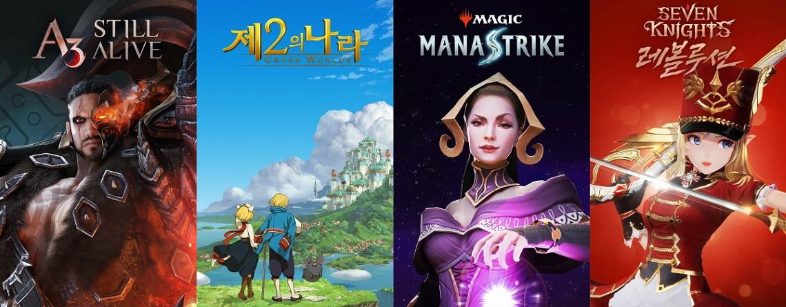 Mobile-Gigant kündigt neue MMORPGs an: Zu Magic und Ni No Kuni