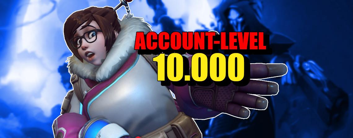 Wahnsinn – Erster Spieler erreicht Level 10.000 in Overwatch