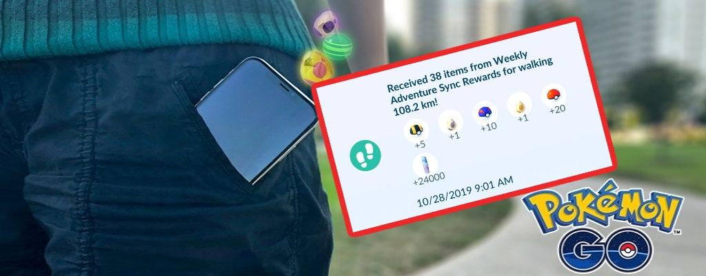 Pokémon GO verteilt mehr Sternenstaub bei Abenteuer Sync – Nur für fleißige Läufer