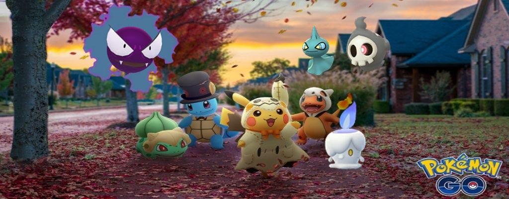 Halloween-Event 2019 in Pokémon GO gestartet – Alles zu Quests und Spawns
