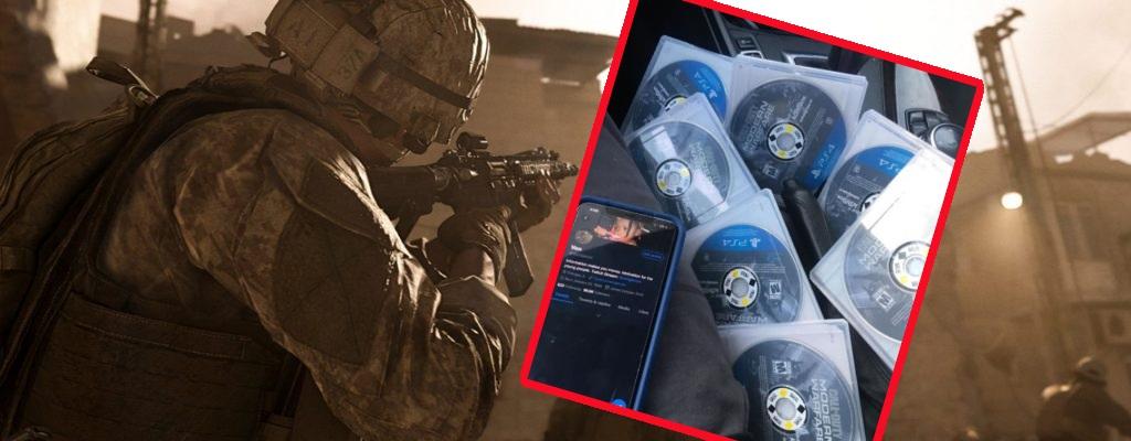 Twitch-Streamer sagt, er hat Kopien von CoD Modern Warfare, verkauft sie für 250$