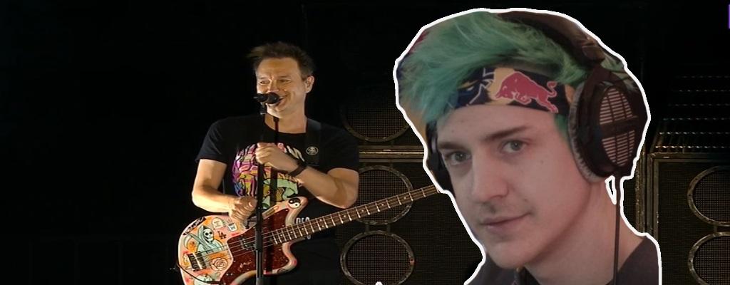 """Twitch: Blink-182 brüllt auf TwitchCon """"Fuck Mixer"""" – Ninja nimmt's persönlich"""