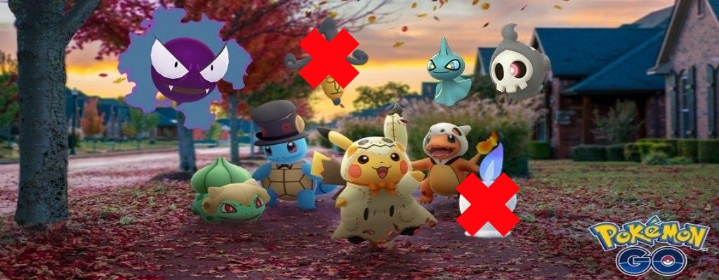 Pokémon GO: Spieler vermissen Geister der Gen 5 im Halloween-Event – Zurecht?