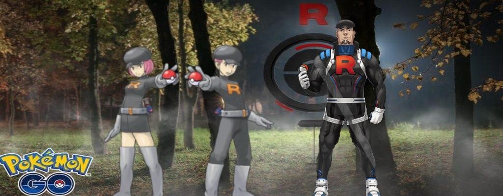 Pokémon GO kriegt 3 neue Rocket-Rüpel – Sind das die bösen Teamleiter?