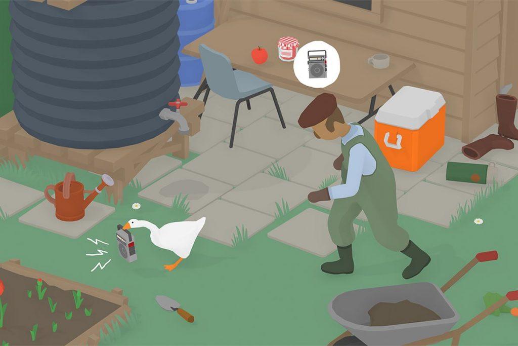 untitled goose game gärtner