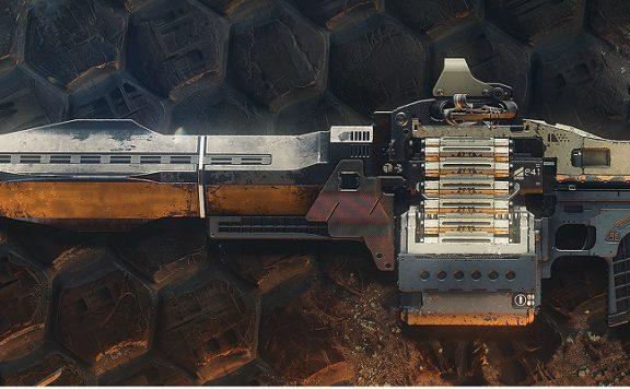 Exo heavy MG Xenophage Destiny 2