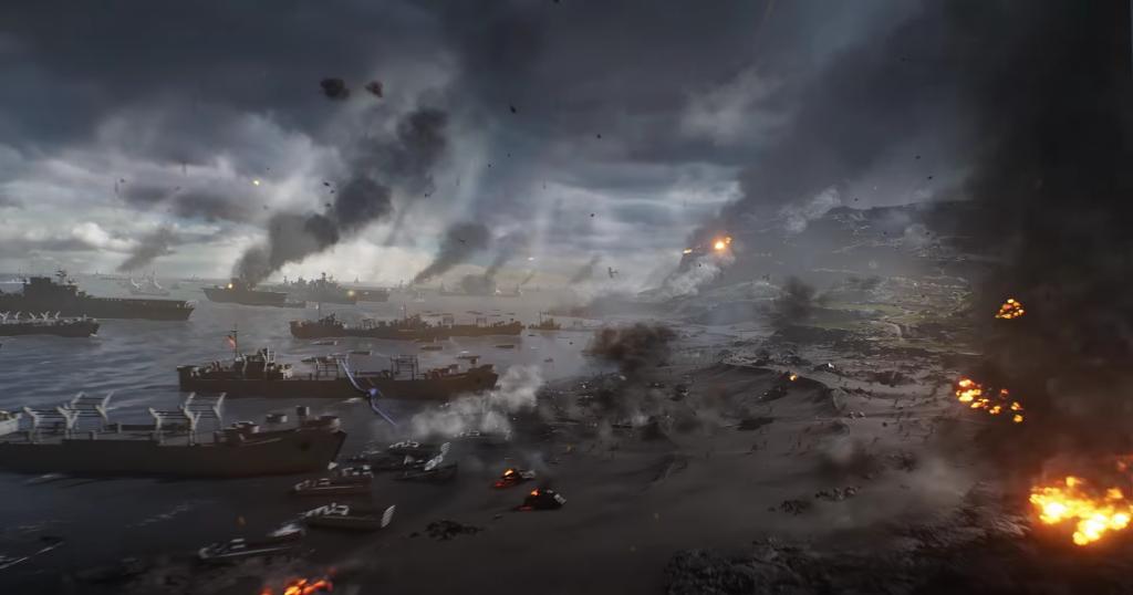 Battlefield 5 Pazifik Trailer Ausblick