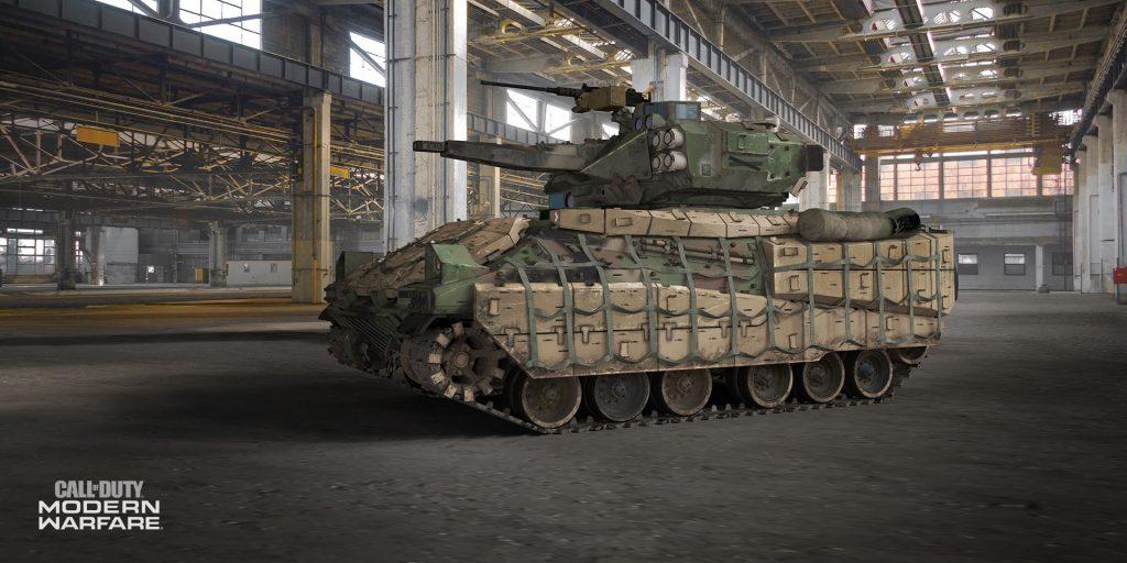 cod modern warfare infanterie panzer