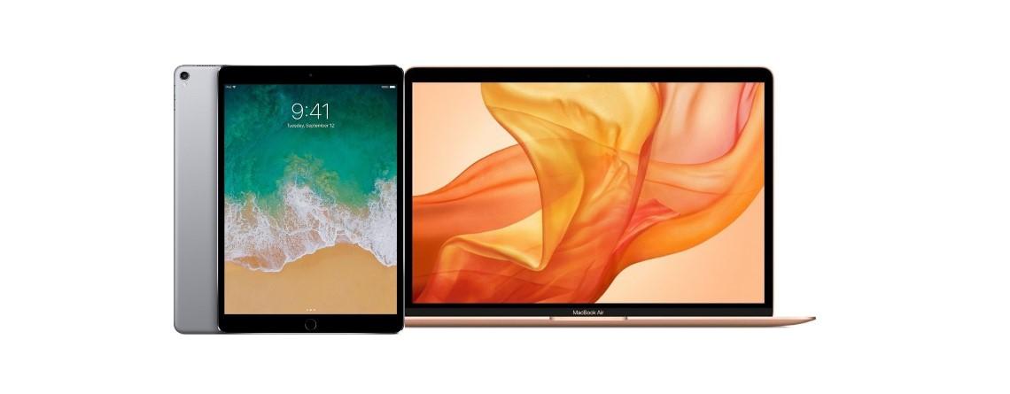 iPad Pro (2017) und goldenes MacBook Air (2018) bei Cyberport reduziert