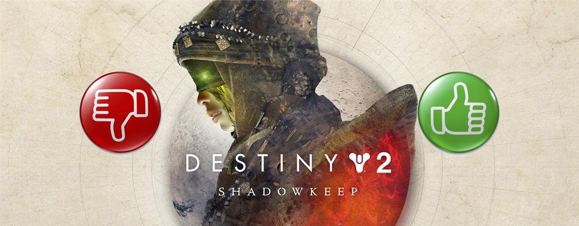 Wie findet ihr Destiny 2: Shadowkeep bis jetzt? – Stimmt ab