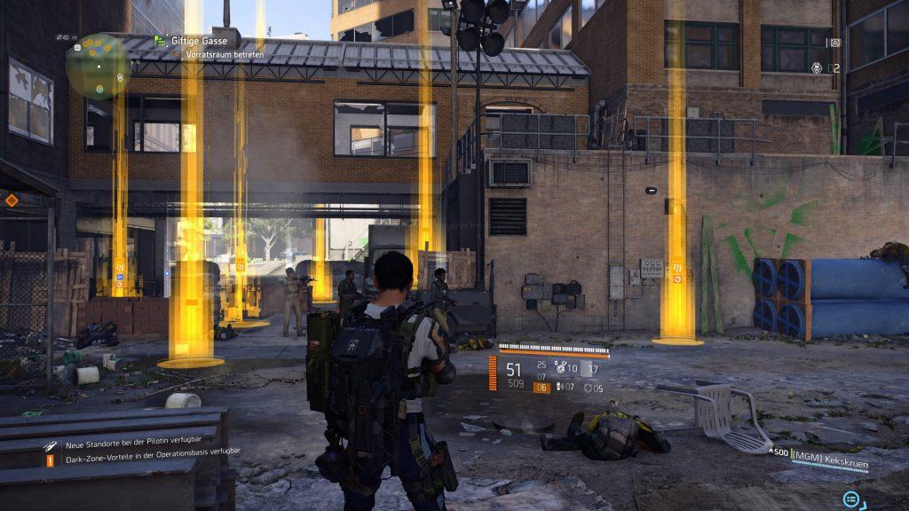 division 2 loot fest