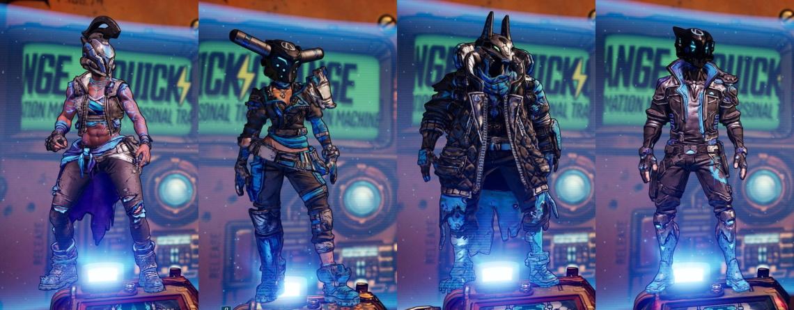 Borderlands 3 leakt 8 neue Skins – Der coolste ist ein Anubis-Kopf für FL4K