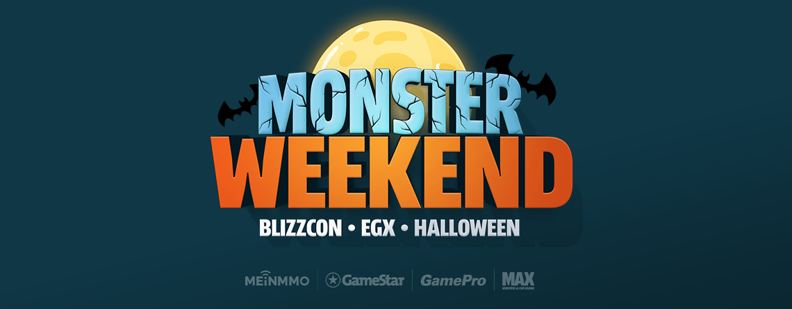 Erlebt mit uns das Monster Weekend – Streams zur BlizzCon und EGX
