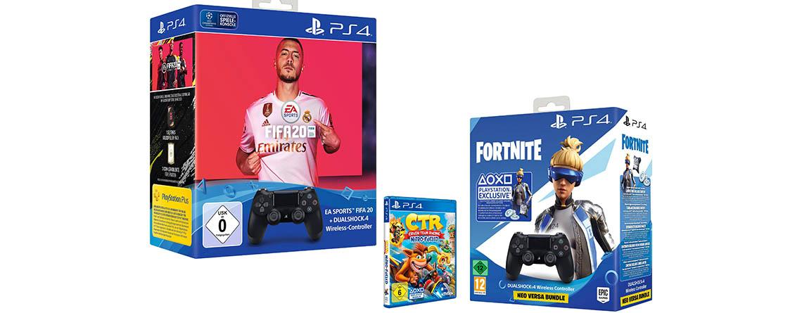 PS4 Wireless-Controller im Bundle mit FIFA 20 besonders günstig