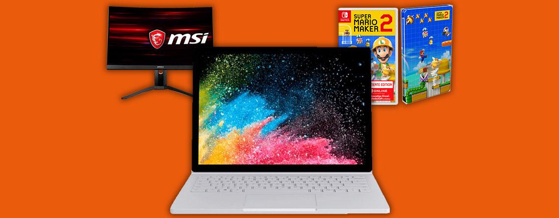 Saturn Weekend Deals: 300 Euro Rabatt auf das Surface Book 2