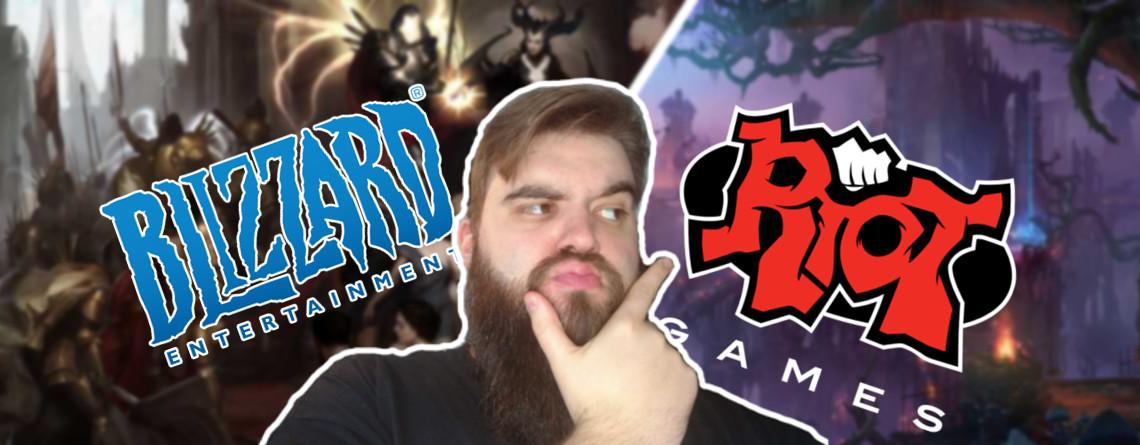 Warum ich mich jetzt erst recht auf Spiele von Blizzard und Riot freue