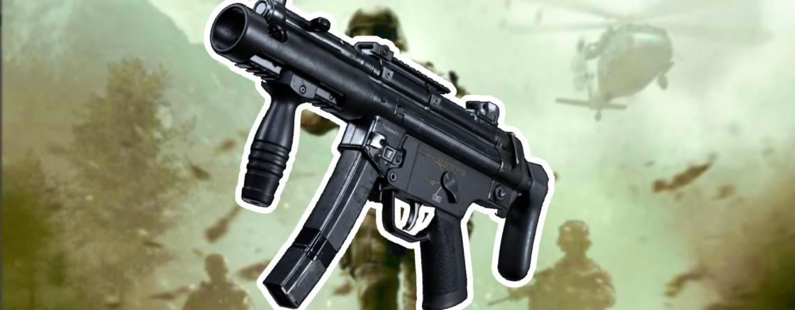 So baut Ihr die geheime Waffe MP5K in CoD Modern Warfare – Das kann sie
