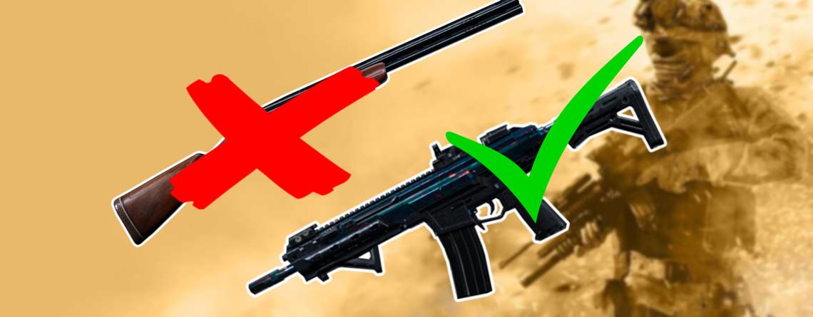 Das sind die 3 beliebtesten Waffen in Call of Duty: Modern Warfare