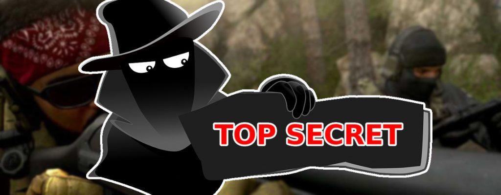 Call of Duty Modern Warfare geheime Waffen Top Secret Titel
