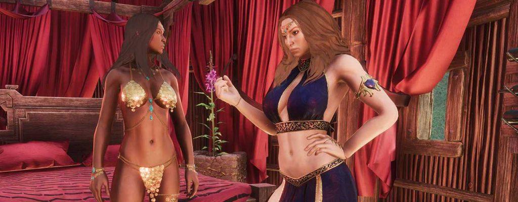 Conan Exiles hübsche Frauen Derketo Titel