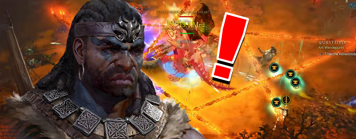 Vorsicht! 1.000 Stapel des Season Buffs in Diablo 3 beschwören den Endgegner