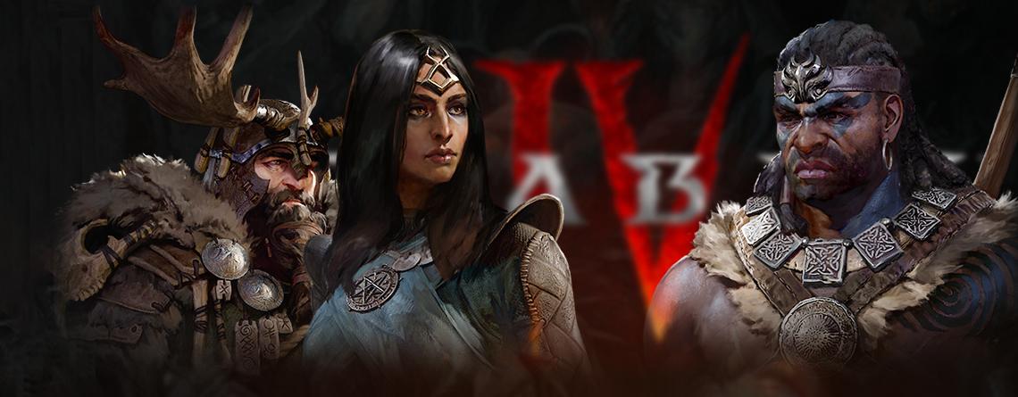 Diablo 4 stellt 3 Klassen vor – Das können Druide, Barbar, Zauberer