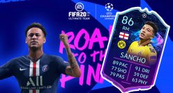 FIFA 20 Road to the Final Sancho Titel2