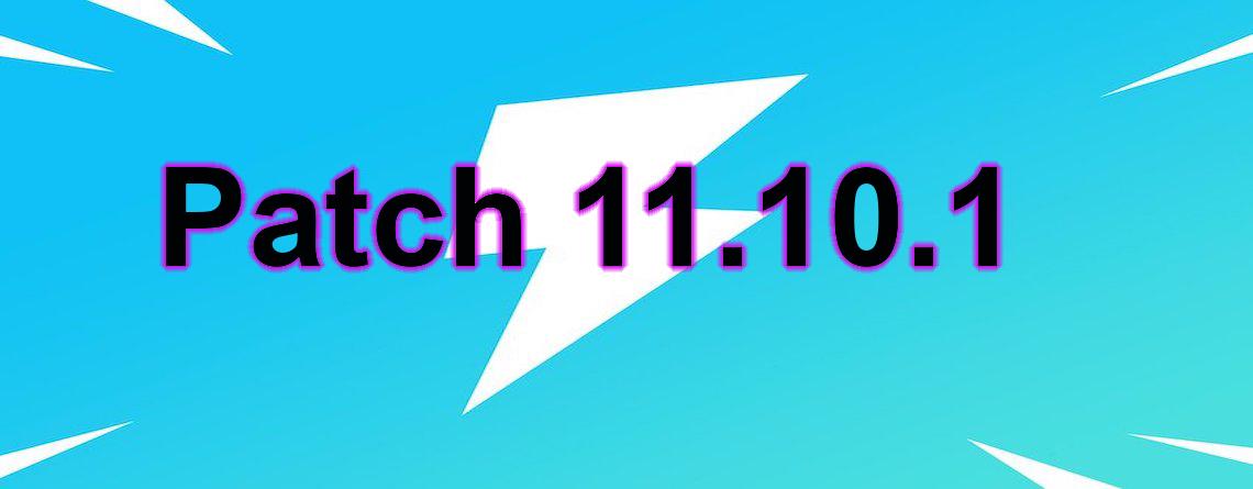 Was macht das neue Update 11.10.1 für Fortnite, das ihr gerade herunterladet?