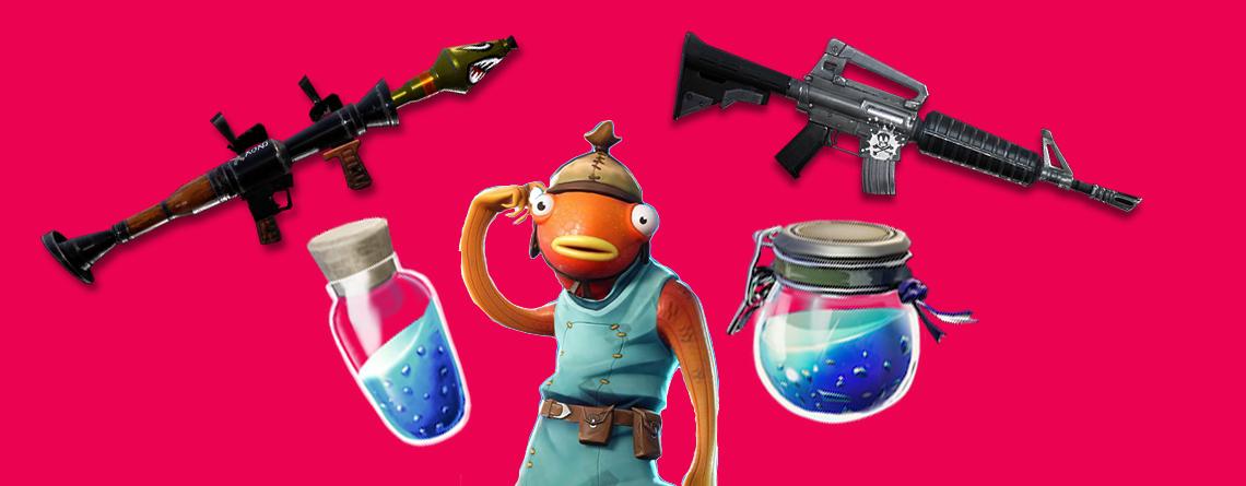 Fortnite: Ihr habt nur Platz für 5 – Diese Waffen und Items solltet ihr mitnehmen