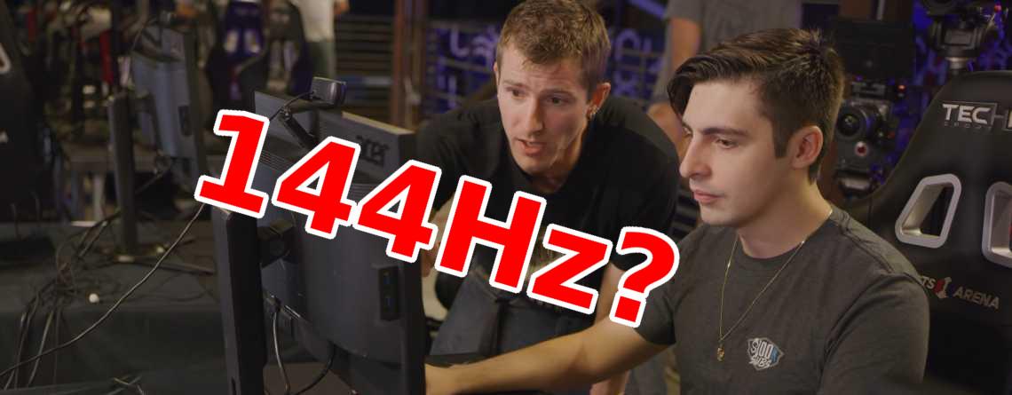Streamer shroud testet: Macht Euch ein 144Hz-Monitor zum besseren Shooter-Spieler?