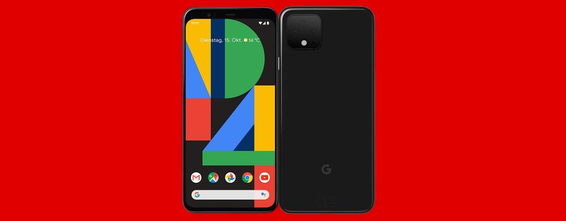 Googles neues Top-Smartphone Pixel 4 mit Tarif günstig bei MediaMarkt