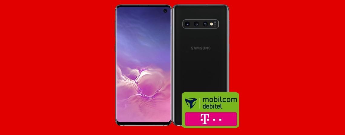 Samsung Galaxy S10 mit LTE-Tarif günstig im Angebot bei MediaMarkt