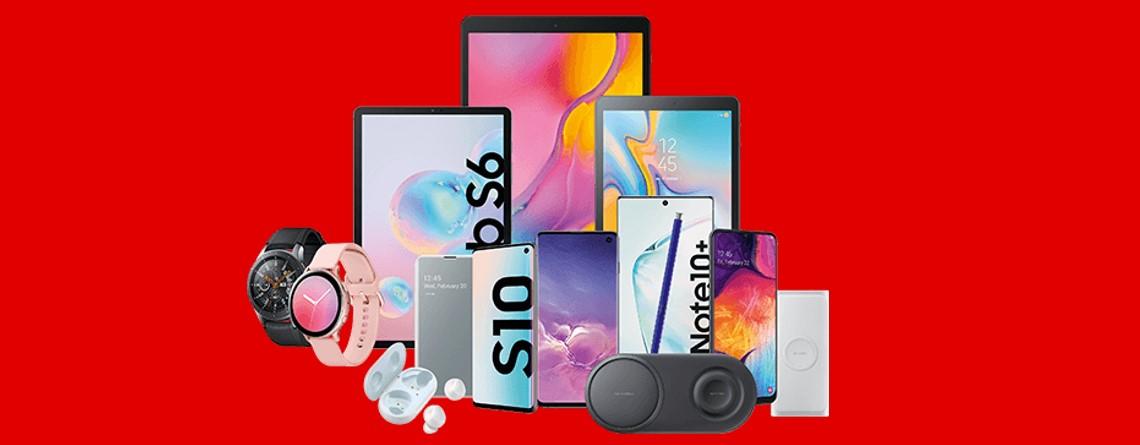 Mehrwertsteuer geschenkt bei Samsung Galaxy-Produkten