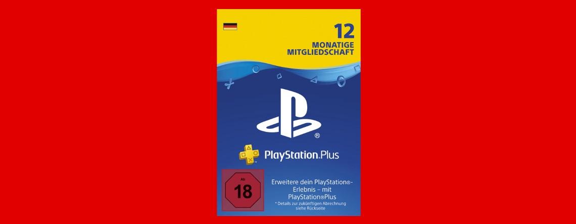 12 Monate PlayStation Plus bei MediaMarkt für 44,99 Euro im Angebot