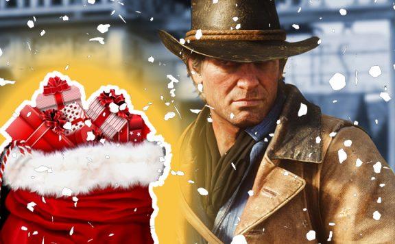 Red Dead Online Weihnachten Titel