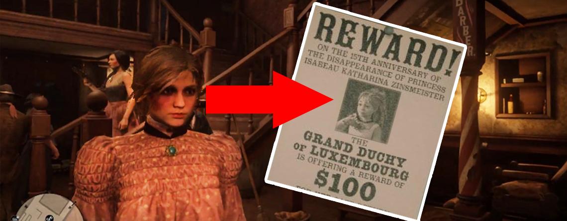 Red Dead Redemption 2: Spieler finden versteckte Prinzessin nach einem Jahr